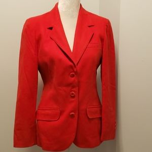 Gorgeous Vintage Pendleton Red Wool Jacket 12 USA